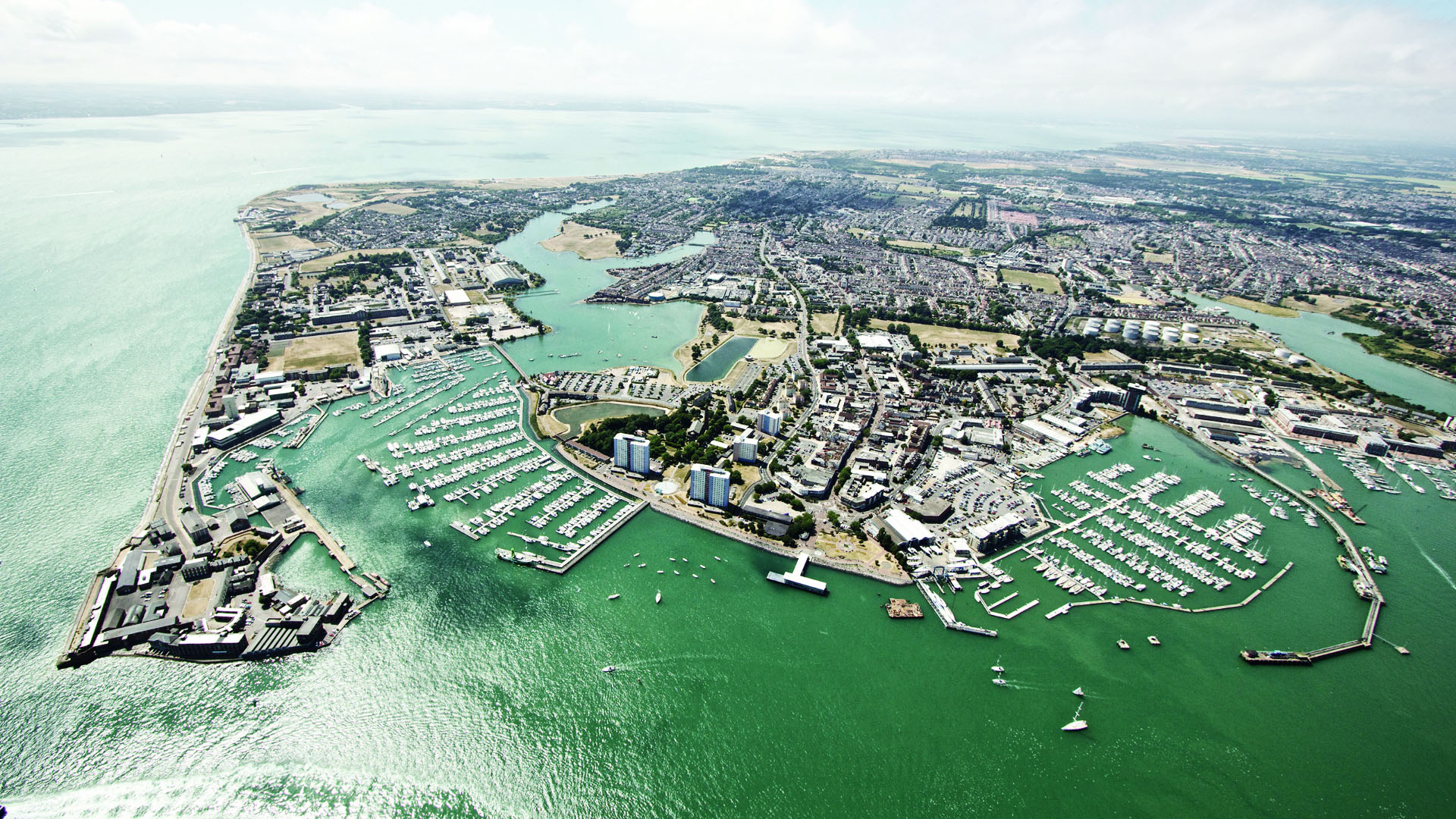 Gosport from the air