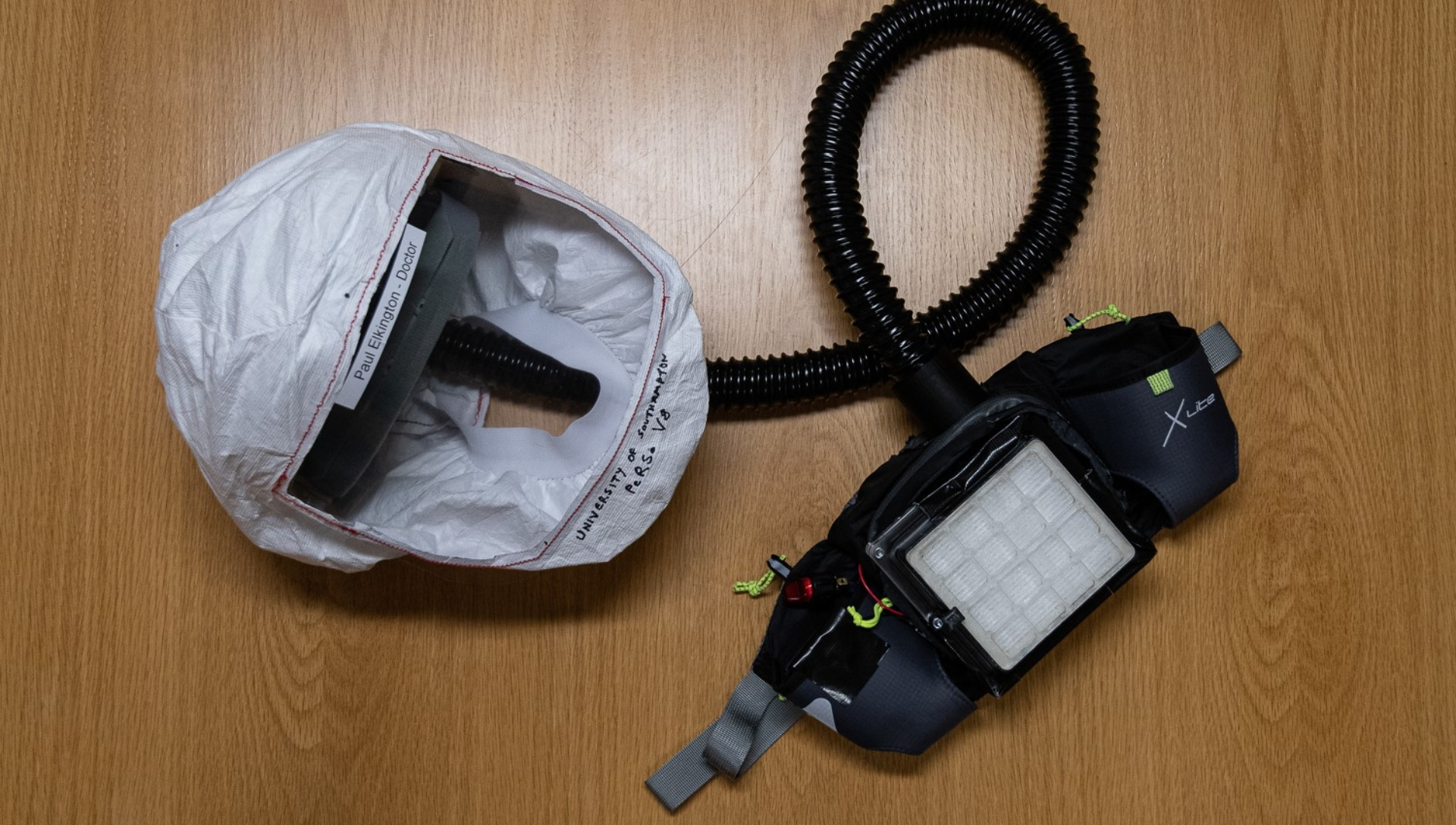 pioneering protective respirator developed in Southampton