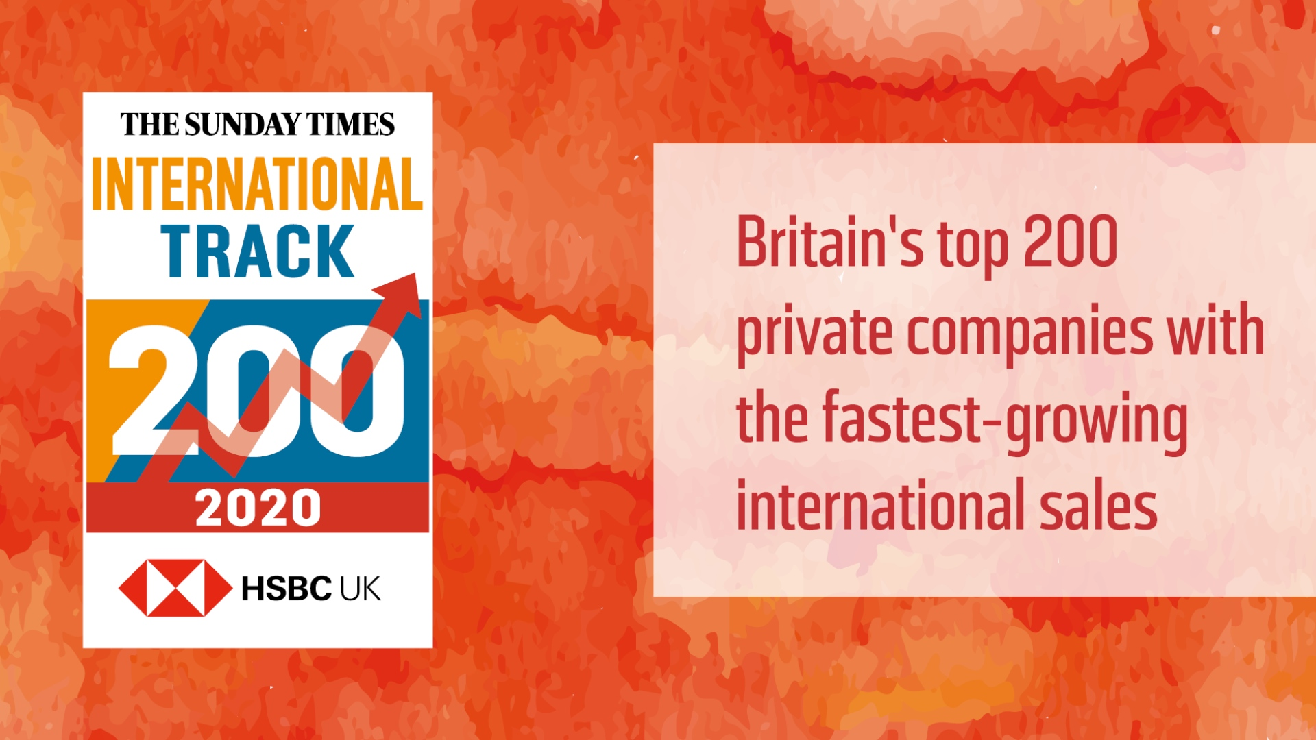Hampshire businesses top the Sunday Times HSBC International Track 200 league table