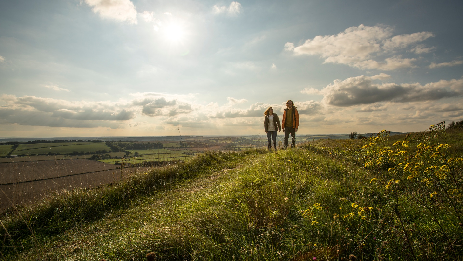 Old Winchester Hill, South Downs National Park - © Visit Hampshire